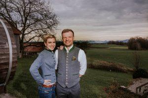 Zu Gast bei Barbara und Korbinian Kugler, Inhaber der Kugleralm Ebersberg