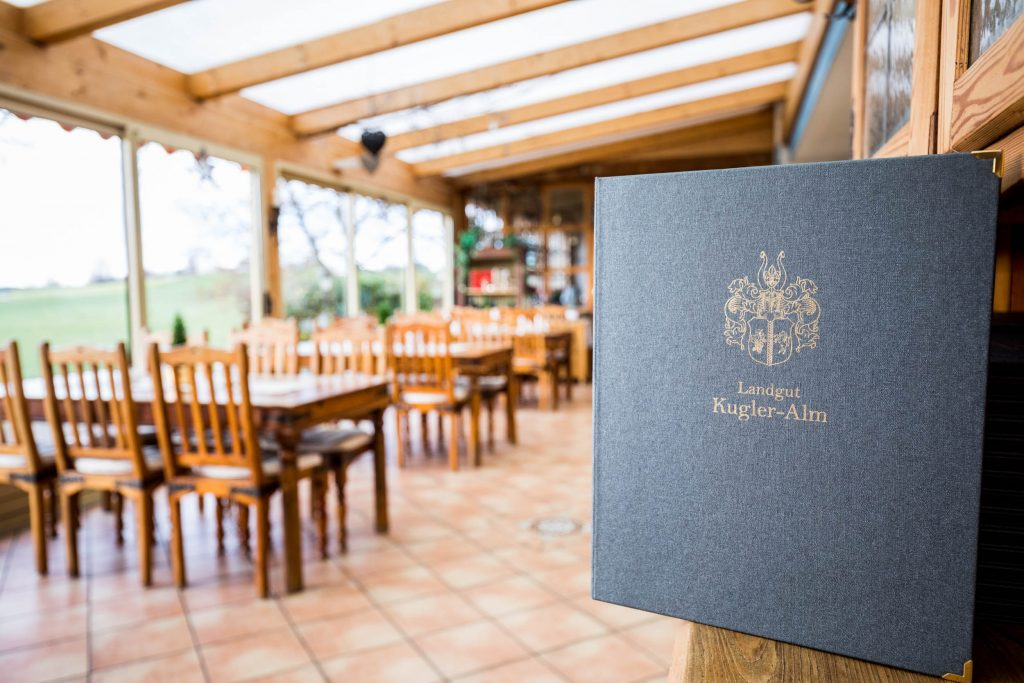 Auch in der Speisekarte vom Landgut Kugler Alm in Ebersberg findet man ab und an Vorspeisen mit Kalbsbries