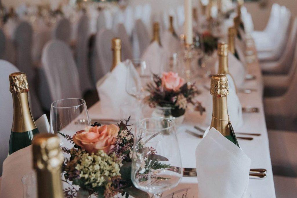 Hochzeitsdeko im Landgut Kugleralm Ebersberg