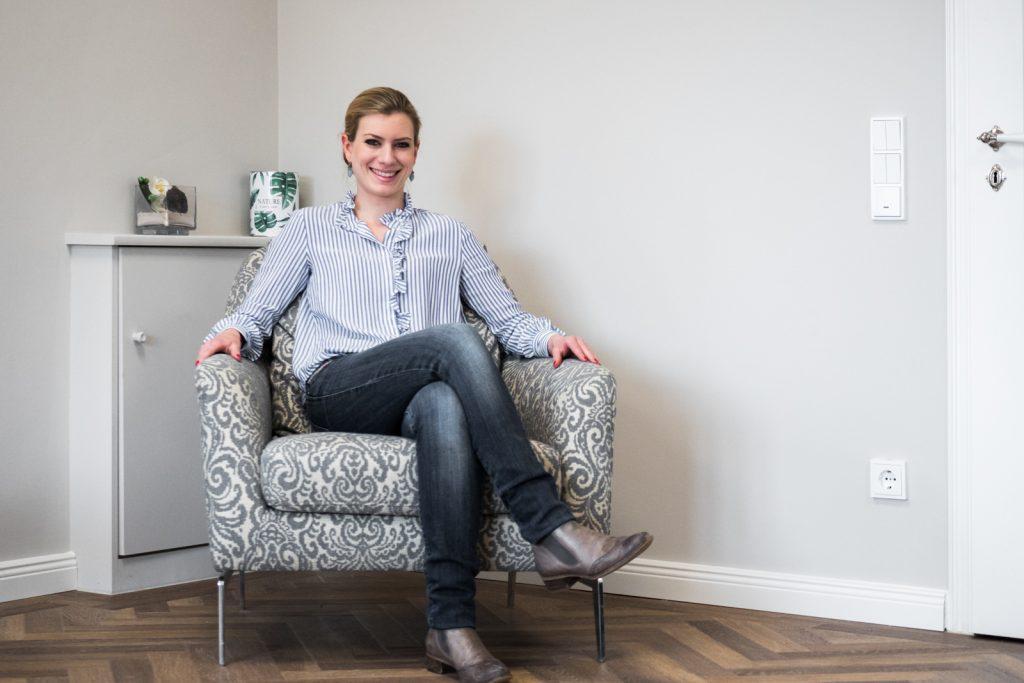 Selbst immer stilsicher: Friseurmeisterin Barbara Kugler