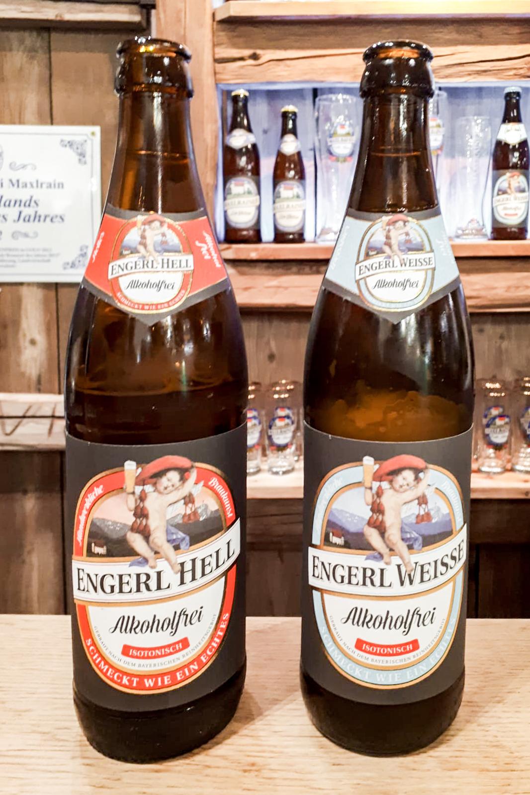 """Das alkoholfreie Bier """" Engerl Hell """" der Schlossbrauereri Maxlrain ist Dank neuer Rezeptur isotonisch"""